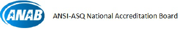 ANSI-ASQ National Accredition Board ロゴ